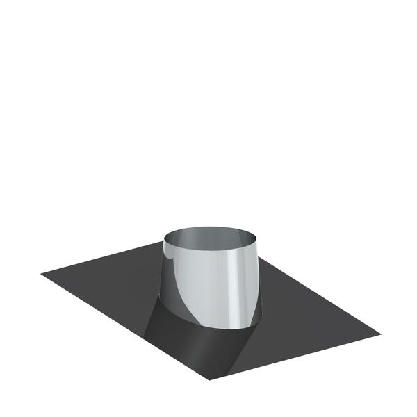 25/° mit Wetterkragen f/ür doppelwandige Schornsteine DW; passend f/ür Rohre mit /Ø 130mm Au/ßendurchmesser Dachdurchf/ührung 16/°